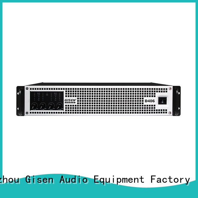 Gisen full range class d digital amplifier manufacturer for entertaining club