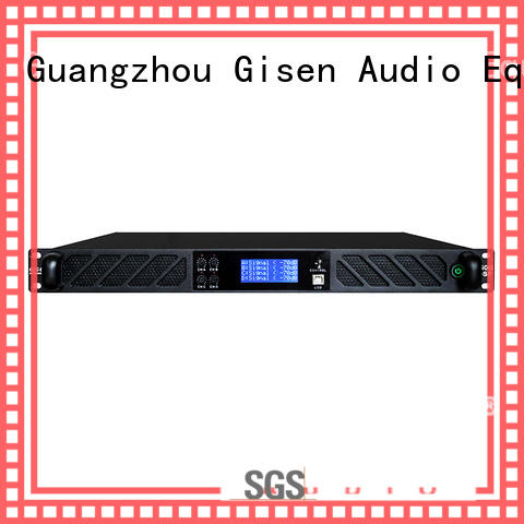 Gisen high quality homemade audio amplifier manufacturer