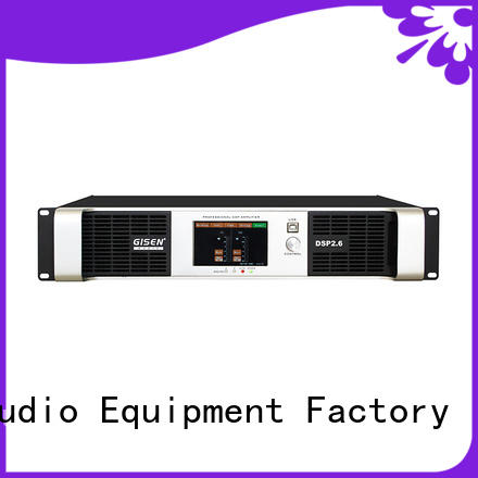 Gisen high quality best power amplifier in the world supplier for venue