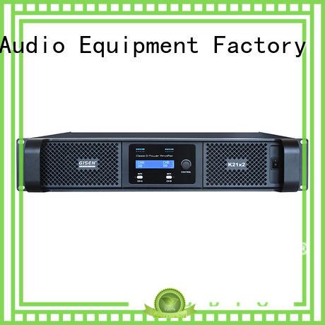8ohm best class d amplifier manufacturer for ktv Gisen