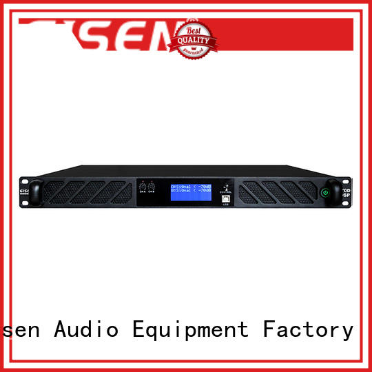 Gisen touch screen best power amplifier in the world wholesale for stage