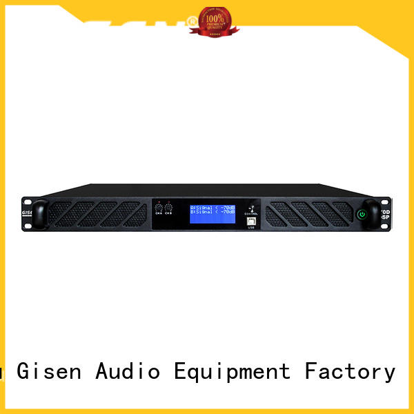 high power digital amplifier touch screen for performance Gisen