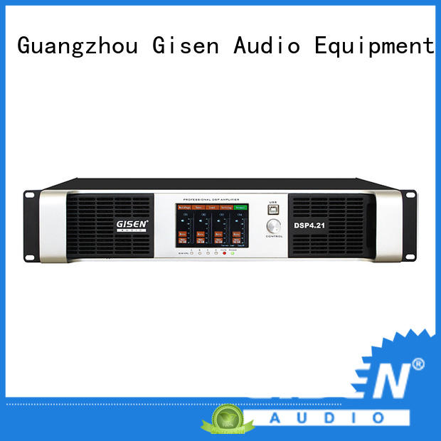 Gisen high quality direct digital amplifier manufacturer for venue