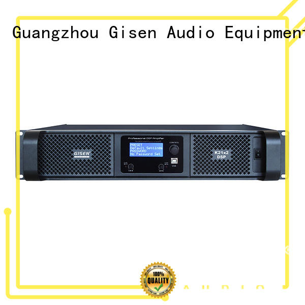 Gisen amplifier multi channel amplifier manufacturer for performance