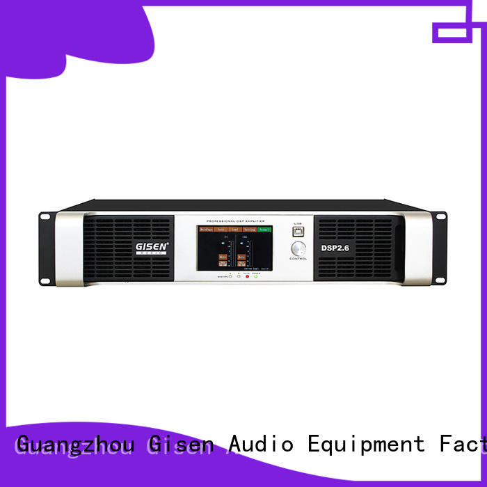 professional dsp power amplifier german wholesale for stage