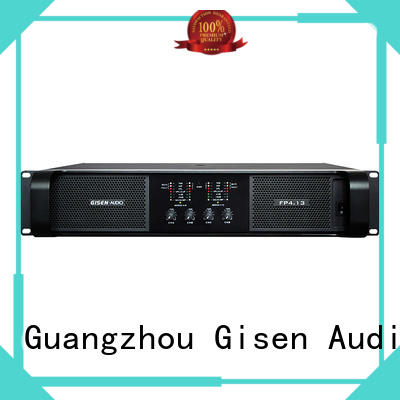 Gisen popular professional amplifier one-stop service supplier for night club