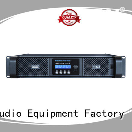 Gisen high efficiency dj amplifier manufacturer for meeting