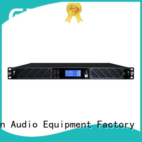 Digital power amplifier with German DSP 4-channel