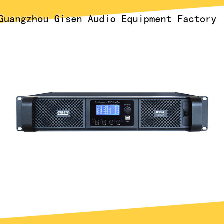 Gisen multiple functions homemade audio amplifier wholesale for venue