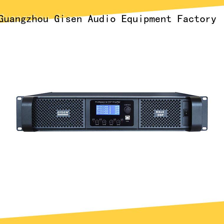 Gisen dsp direct digital amplifier manufacturer for stage