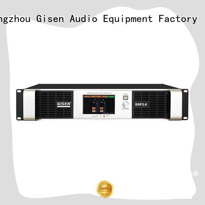 Gisen german dsp amplifier supplier