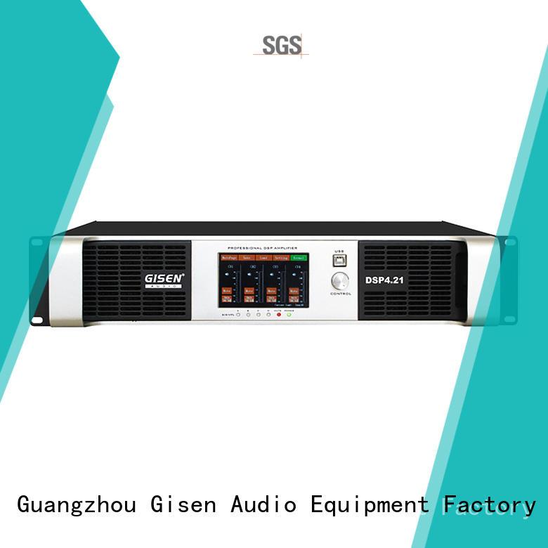 2100wx2 dsp amplifier power Gisen
