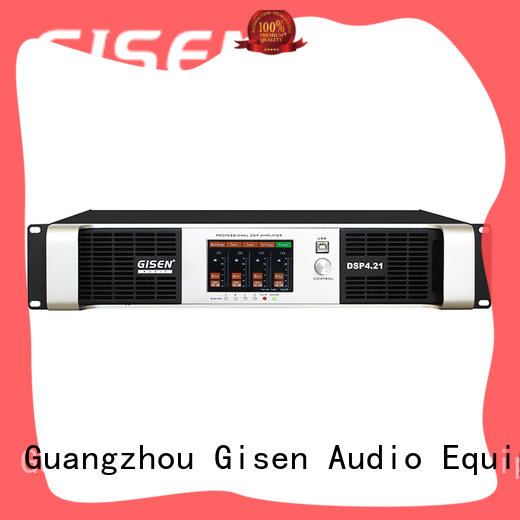Gisen 2 channel amplifier sound system factory for various occations