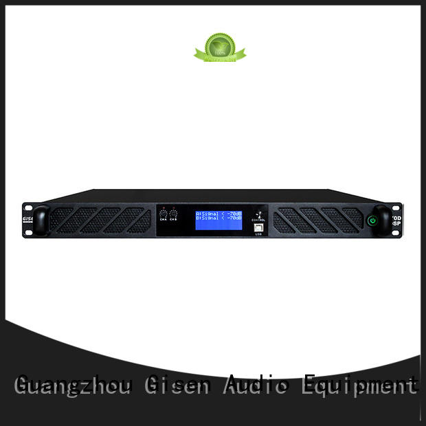 Gisen professional professional dj amplifier dsp for various occations