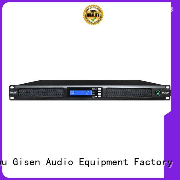 Gisen new model audio power amplifier wholesale for performance