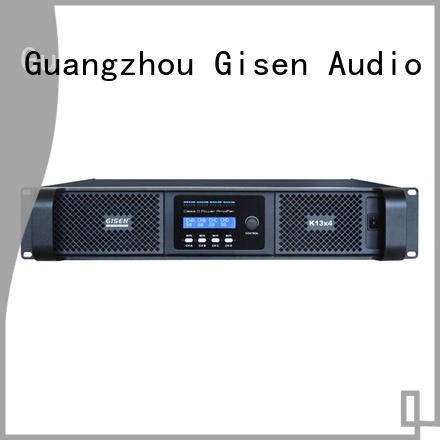 Gisen 8ohm class d digital amplifier wholesale for meeting