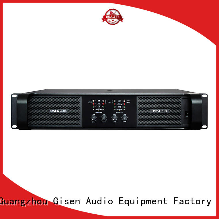 Gisen unreserved service professional amplifier source now for various occations