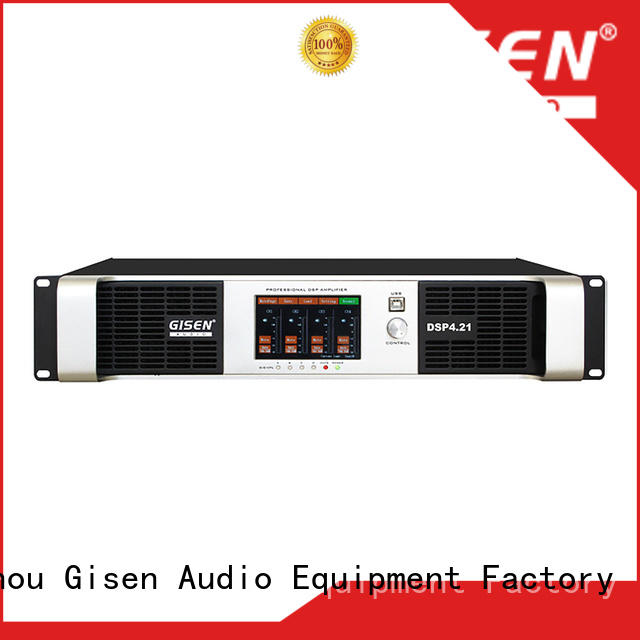 Gisen professional amplifier power supplier for various occations