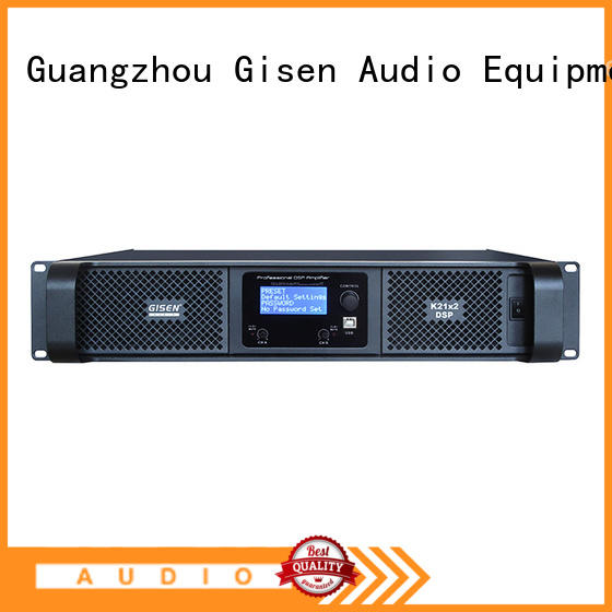 Gisen professional best power amplifier in the world 2100wx4 for performance