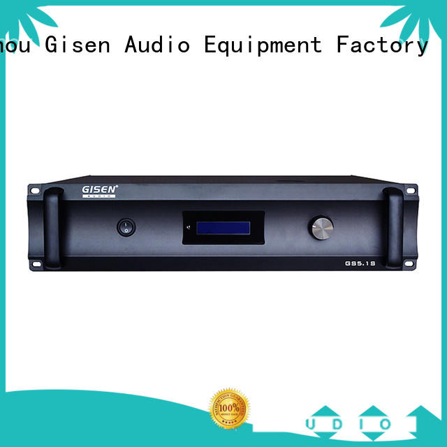 Gisen low distortion home theater amp fair trade for home theater