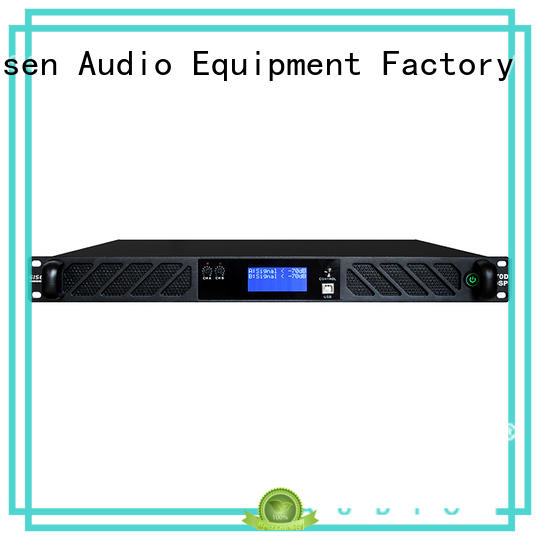 Gisen 2 channel audio amplifier pro manufacturer for stage