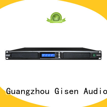 Gisen new model professional power amplifier manufacturer for performance
