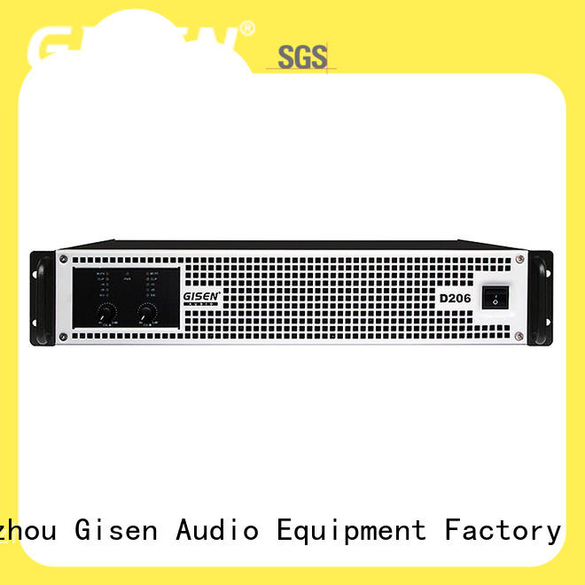Gisen high efficiency class d amplifier wholesale for ktv