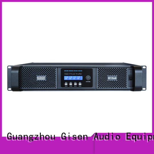 Gisen 2100wx2 class d power amplifier fast shipping for entertaining club