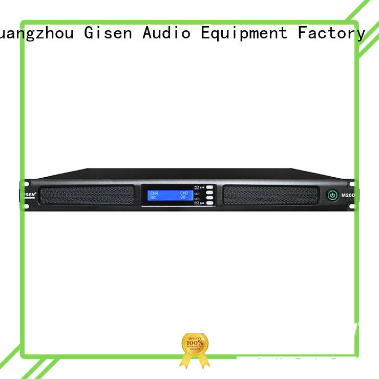 Gisen new model 4 channel amplifier manufacturer for performance