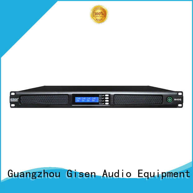 Gisen new model 2 channel power amplifier manufacturer for entertainment club