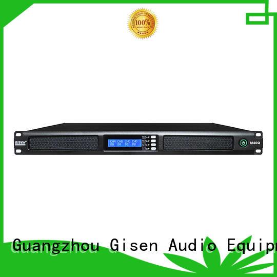 Gisen new model digital stereo amplifier series for venue