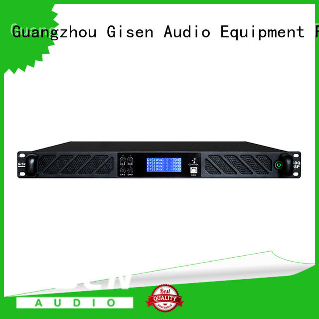 Gisen german amplifier sound system supplier for various occations