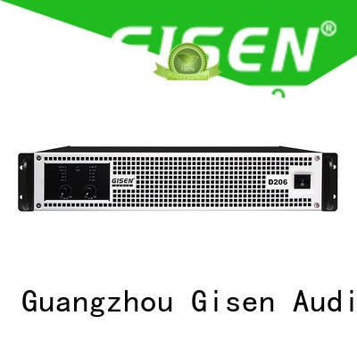 Gisen high efficiency class d audio amplifier wholesale for ktv