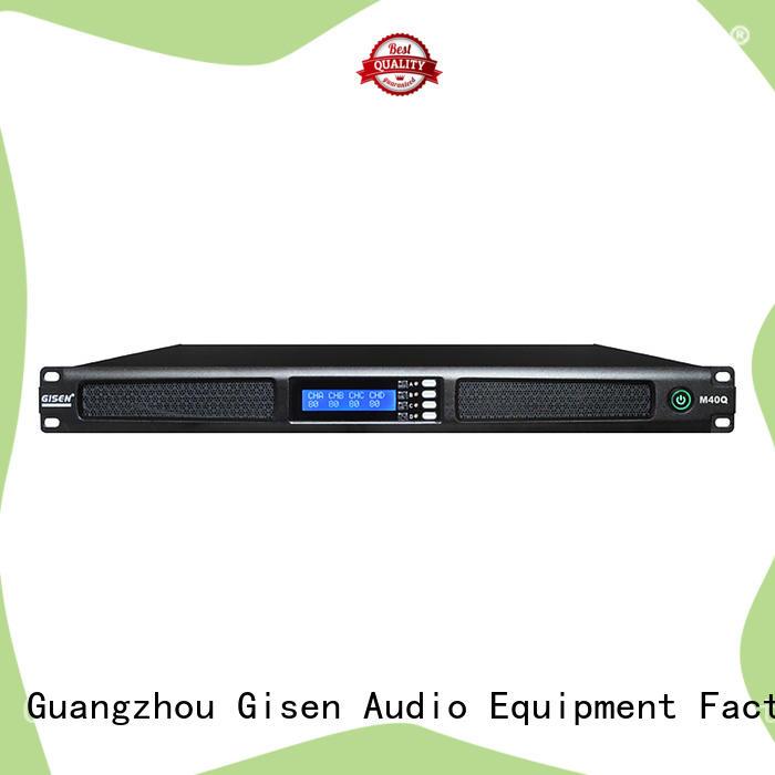 Gisen amplifier professional power amplifier manufacturer for venue