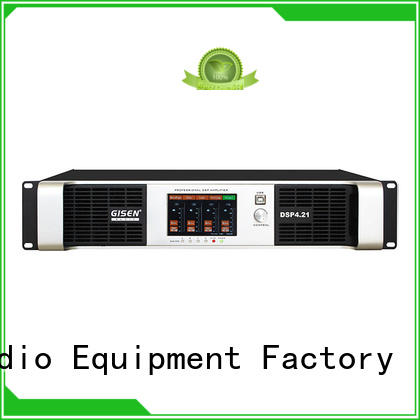 Gisen channel dsp power amplifier supplier