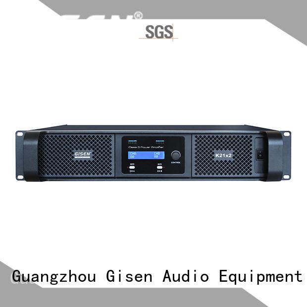 Gisen advanced best class d amplifier wholesale for entertaining club