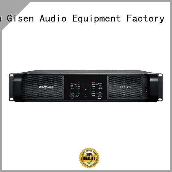 Gisen power stereo amplifier get quotes for night club