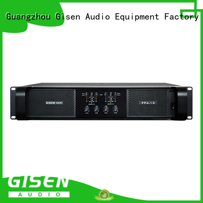 Gisen quality assurance compact stereo amplifier one-stop service supplier for performance