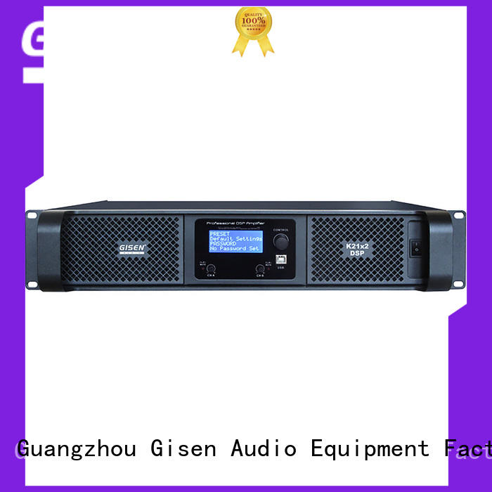 multiple functions direct digital amplifier touch screen wholesale for stage