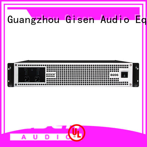 Gisen power dj amplifier fast delivery for performance