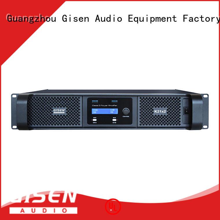 Gisen guangzhou digital audio amplifier wholesale for entertaining club