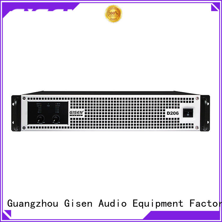 Gisen digital dj amplifier wholesale for ktv