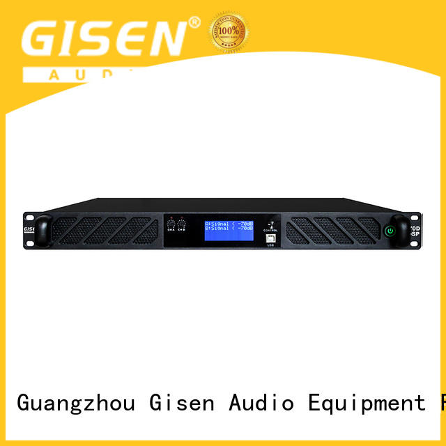 Gisen professional amplifier sound system manufacturer for performance