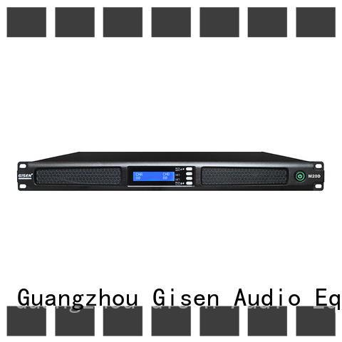 Gisen digital 4 channel amplifier wholesale for venue