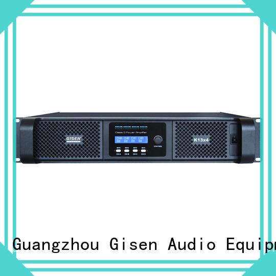 Gisen advanced class d amplifier supplier for performance