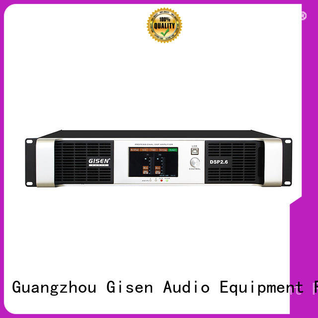 Gisen multiple functions professional dj amplifier factory for performance