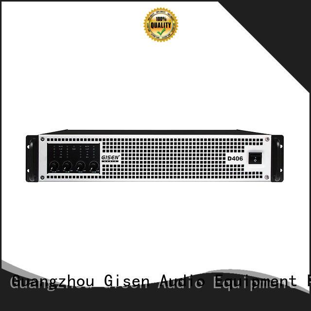 Gisen class hifi class d amplifier wholesale for stadium