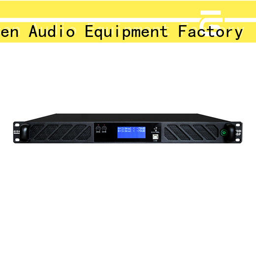 Gisen dsp amplifier power supplier for stage