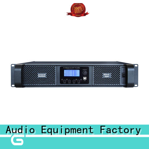 Gisen multiple functions desktop audio amplifier manufacturer