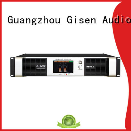 Gisen professional desktop audio amplifier supplier